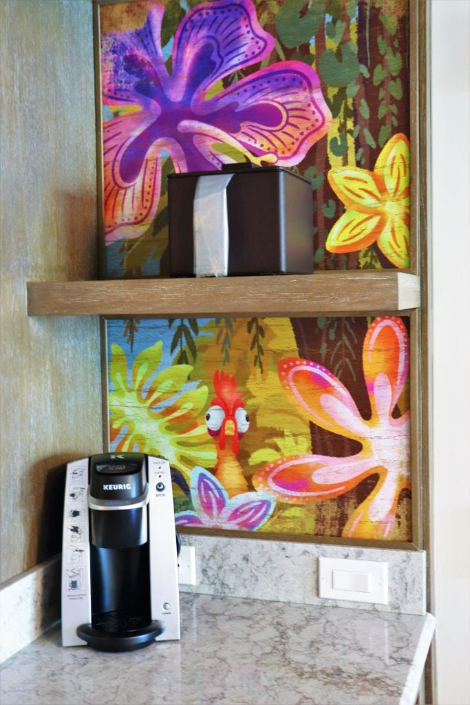 Disney's Polynesian room with Moana theme - Disney in your Day