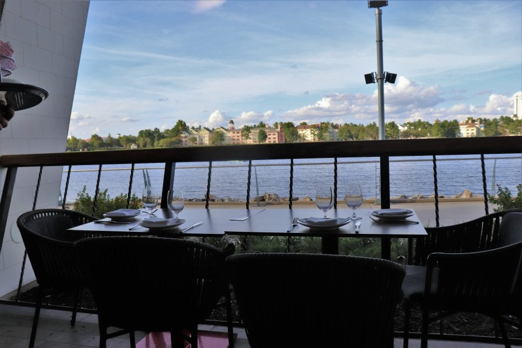Jaleo Disney Springs - Disney in your Day outdoor dining and seating