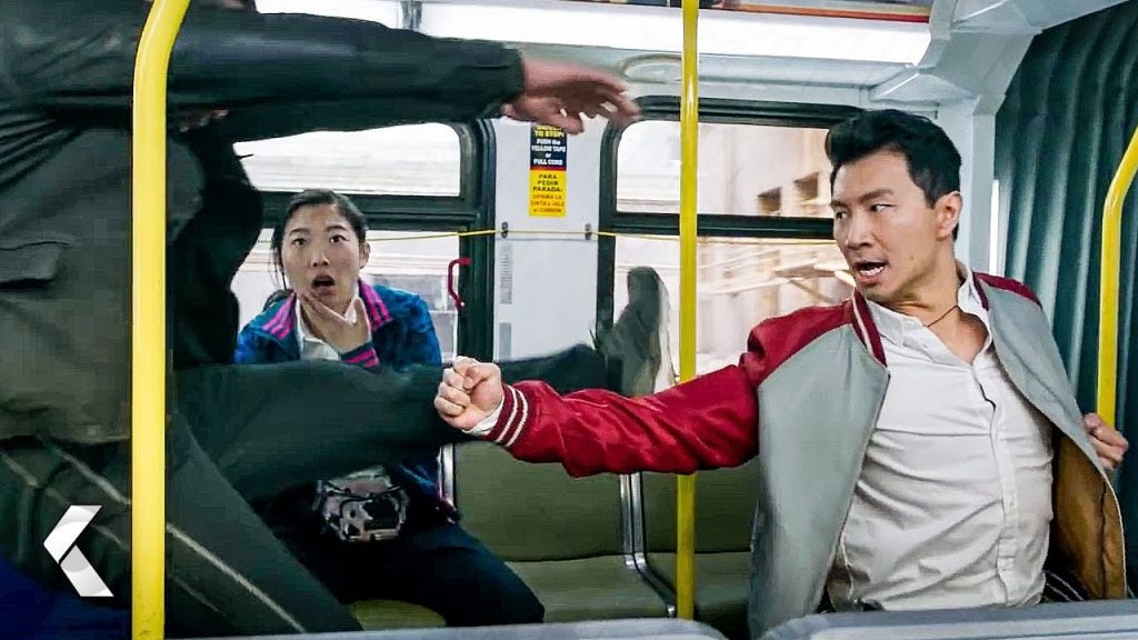 Shang-Chi  - bus fight