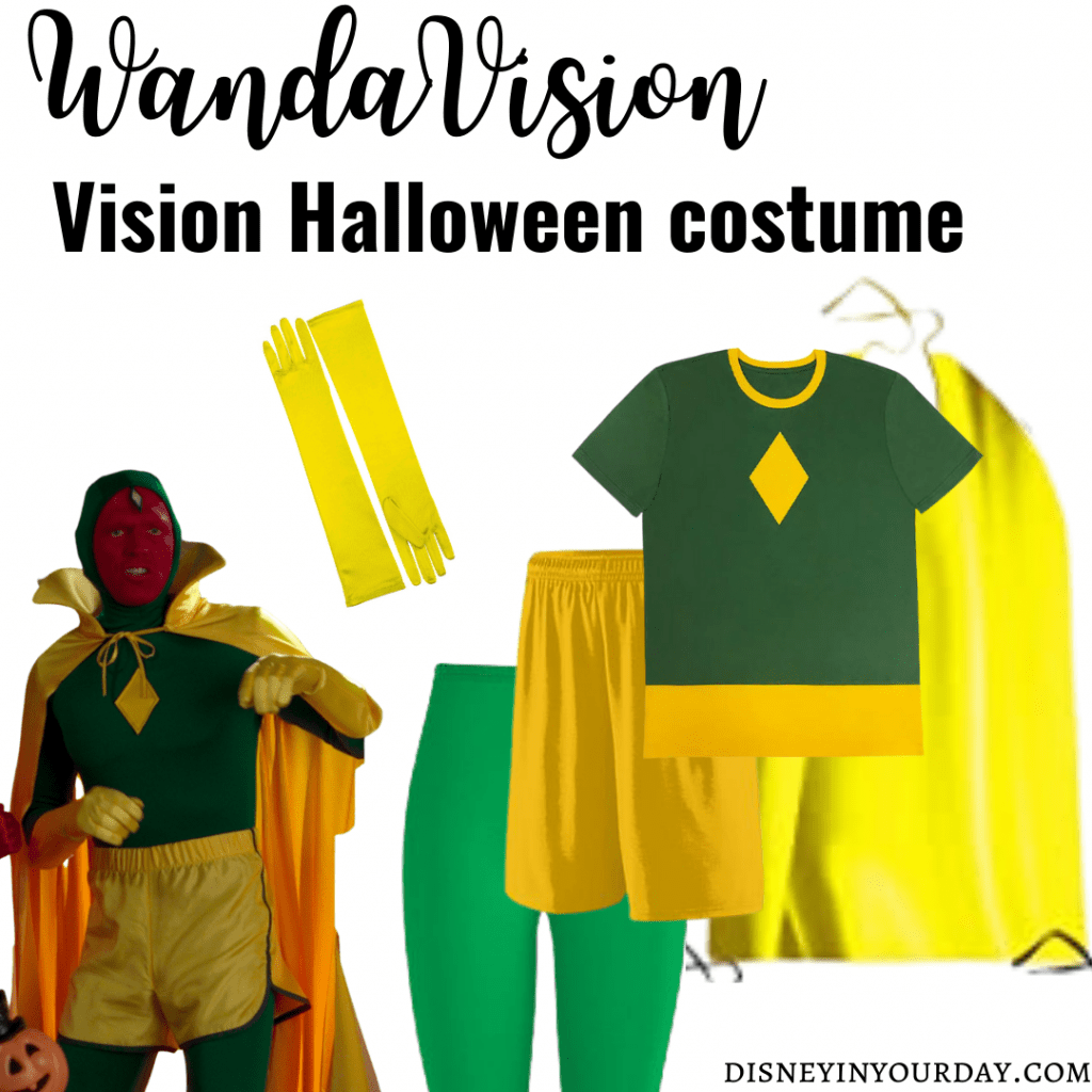 Vision Halloween costume - Disney in your Day