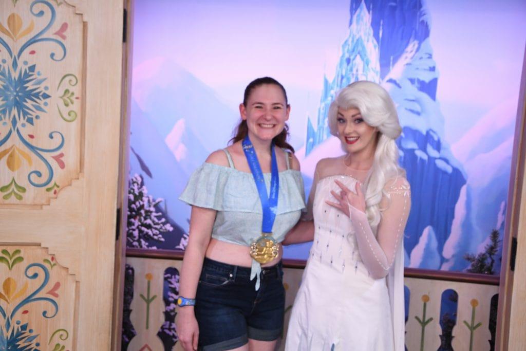 Elsa meet and greet Disney World - Disney in your Day