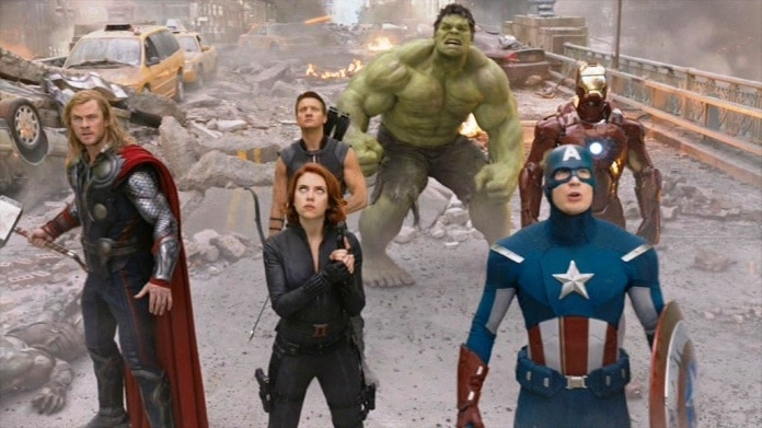 Marvel movie marathon the Avengers