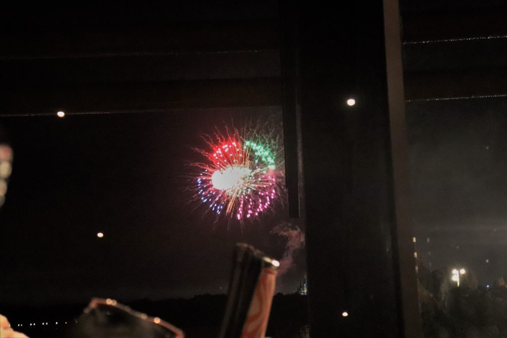 'Ohana dinner fireworks view - Disney in your Day