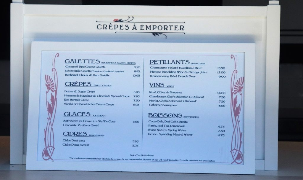 Crepes a Emporter