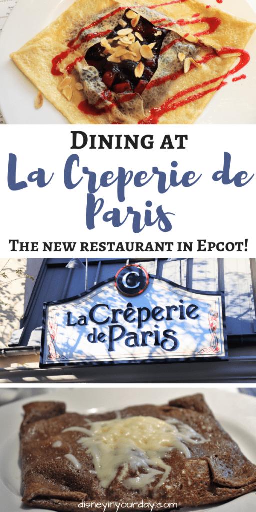 La Creperie de Paris - Disney in your Day